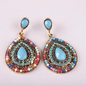 Jewelry - NEW boho beaded earrings